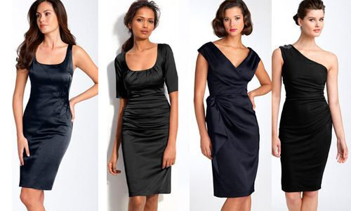 Маленькое черное платье своими руками фото
